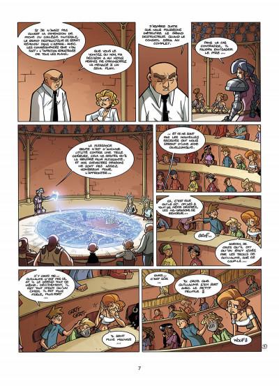 Page 8 le collège invisible tome 6 - galactus destructor