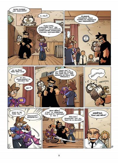 Page 0 le Collège Invisible tome 7 - retournum a la terrum