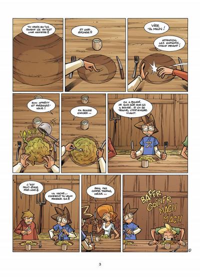 Page 4 le Collège Invisible tome 7 - retournum a la terrum