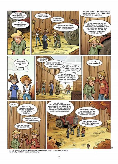 Page 6 le Collège Invisible tome 7 - retournum a la terrum