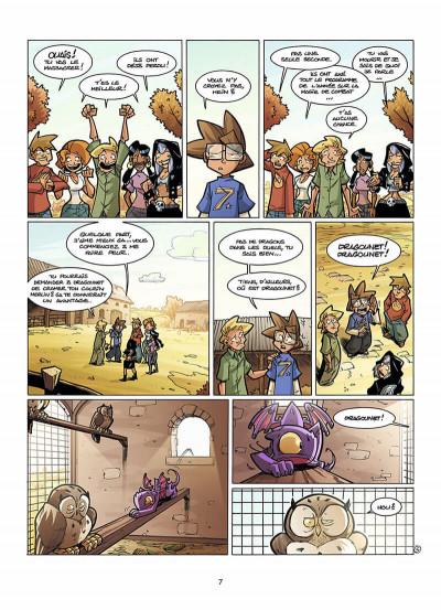 Page 8 le Collège Invisible tome 7 - retournum a la terrum