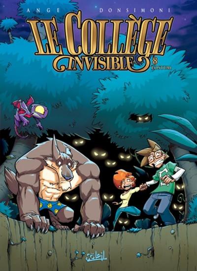 Couverture le collège invisible tome 8 - lostum