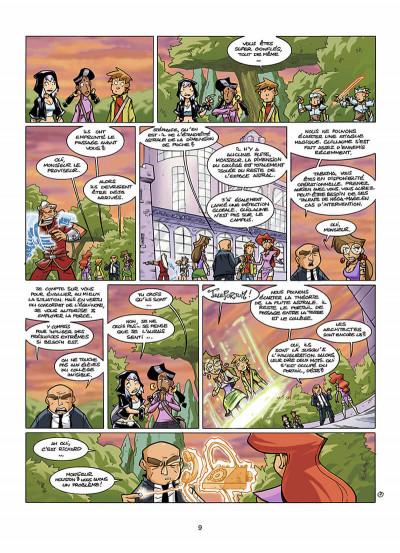 Page 0 le collège invisible tome 8 - lostum