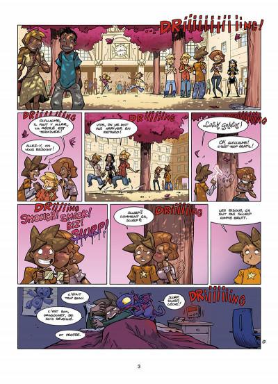 Page 4 le collège invisible tome 8 - lostum