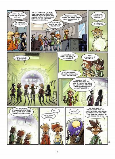 Page 8 le collège invisible tome 8 - lostum