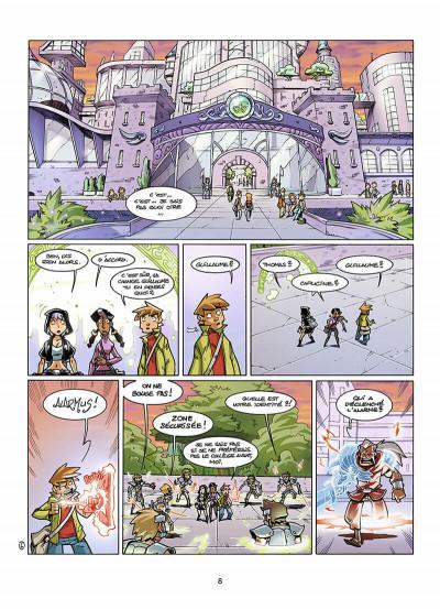 Page 9 le collège invisible tome 8 - lostum