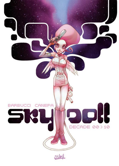 Couverture SKY DOLL ; DECADE 00>10
