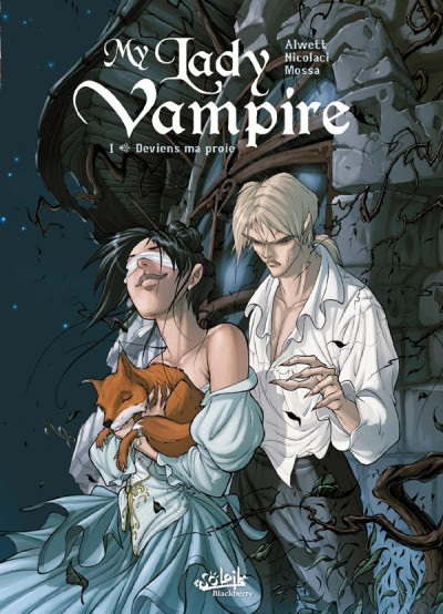 Couverture my lady vampire tome 1 - deviens ma proie