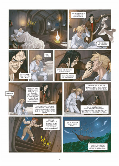 Page 4 my lady vampire tome 1 - deviens ma proie
