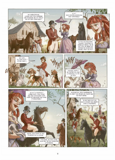 Page 6 my lady vampire tome 1 - deviens ma proie