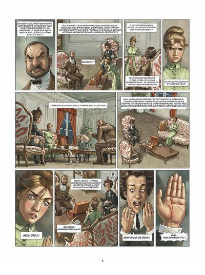 Page 7 Aspic, détectives de l'étrange tome 2