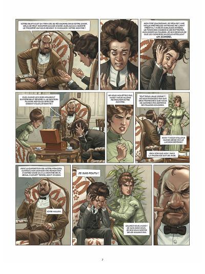 Page 8 Aspic, détectives de l'étrange tome 2