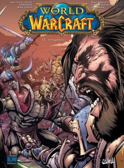 Couverture world of Warcraft tome 12 - Armageddon
