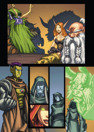 Page 1 world of Warcraft tome 12 - Armageddon