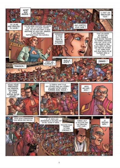 Page 4 Moréa tome 6 - la mort dans le sang