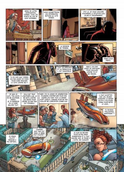 Page 5 Moréa tome 6 - la mort dans le sang