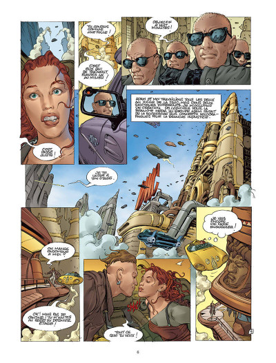 Page 5 Moréa tome 1 - le sang des anges