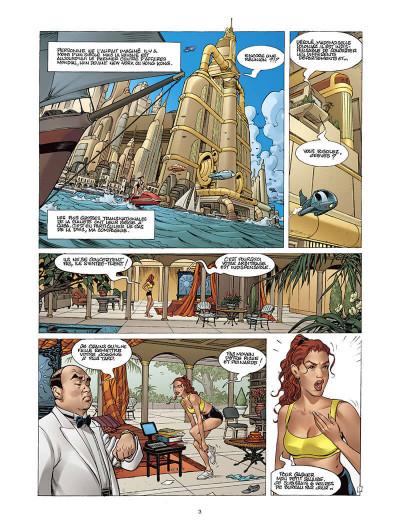 Page 2 Moréa tome 2 - l'échine du dragon