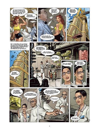 Page 3 Moréa tome 2 - l'échine du dragon