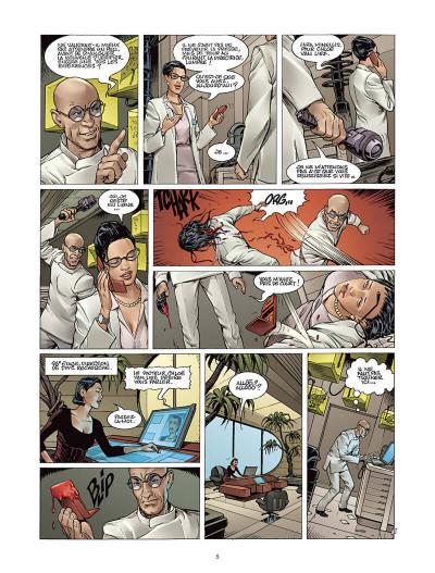 Page 4 Moréa tome 2 - l'échine du dragon