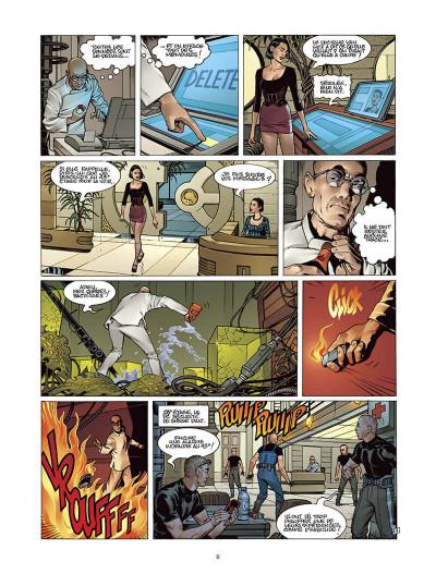 Page 5 Moréa tome 2 - l'échine du dragon