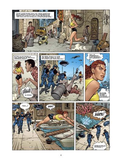 Page 7 Moréa tome 2 - l'échine du dragon