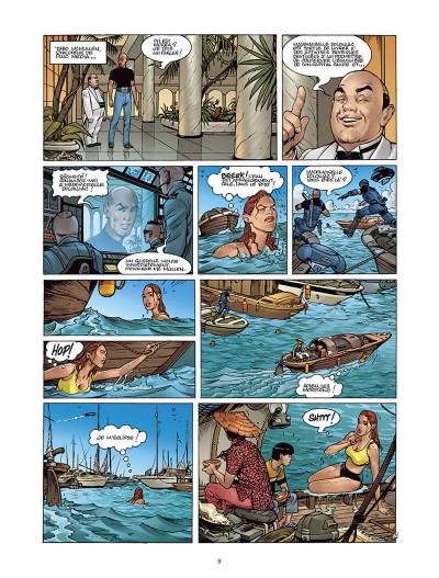 Page 8 Moréa tome 2 - l'échine du dragon