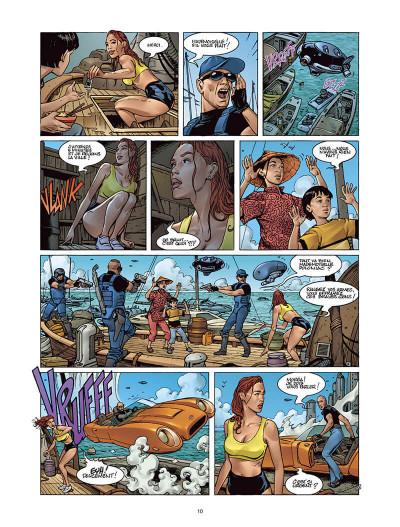 Page 9 Moréa tome 2 - l'échine du dragon