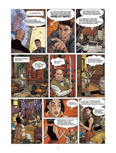Page 6 Moréa tome 3 - le feu du temps