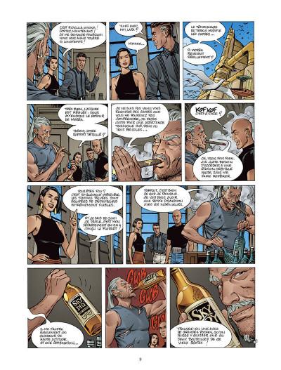 Page 8 Moréa tome 3 - le feu du temps