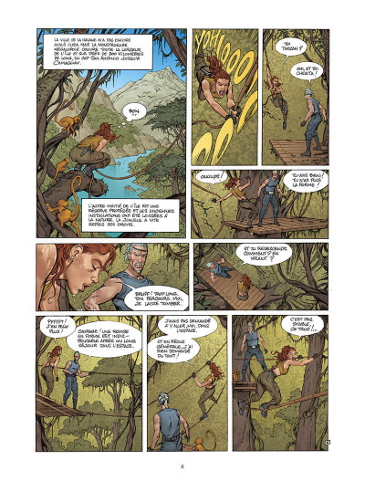 Page 5 Moréa tome 4 - un parfum d'éternité