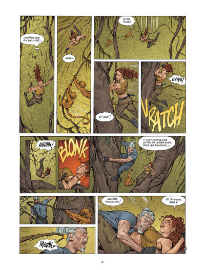 Page 7 Moréa tome 4 - un parfum d'éternité