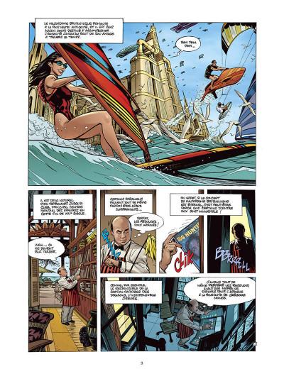 Page 2 Moréa tome 5 - la brûlure des ténèbres