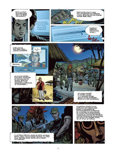 Page 3 Moréa tome 5 - la brûlure des ténèbres