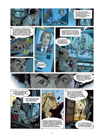 Page 4 Moréa tome 5 - la brûlure des ténèbres