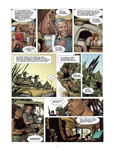 Page 6 Moréa tome 5 - la brûlure des ténèbres