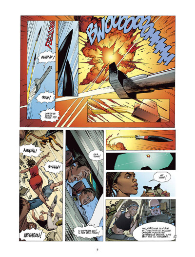 Page 8 Moréa tome 5 - la brûlure des ténèbres