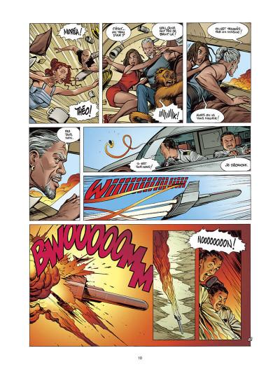 Page 9 Moréa tome 5 - la brûlure des ténèbres