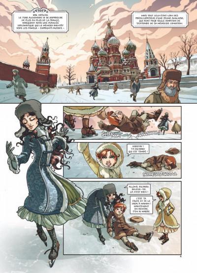 Page 1 princesse Sara tome 3 - mystérieuses héritières