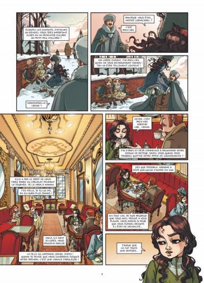 Page 2 princesse Sara tome 3 - mystérieuses héritières