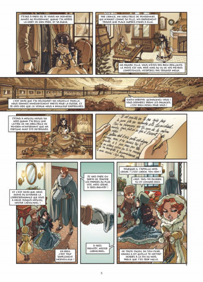Page 3 princesse Sara tome 3 - mystérieuses héritières