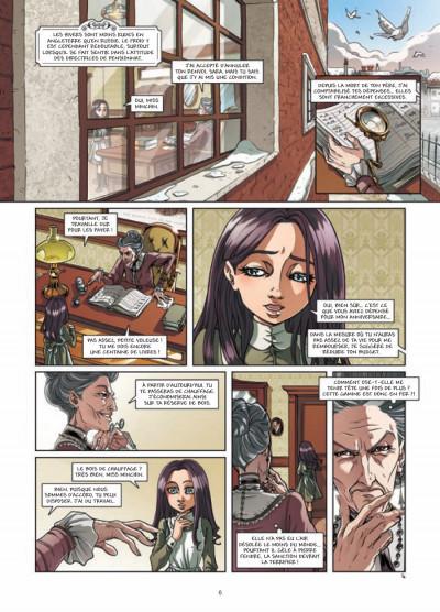 Page 4 princesse Sara tome 3 - mystérieuses héritières