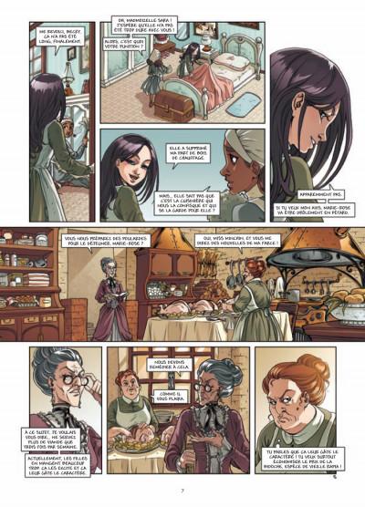 Page 5 princesse Sara tome 3 - mystérieuses héritières