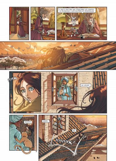 Page 6 princesse Sara tome 3 - mystérieuses héritières