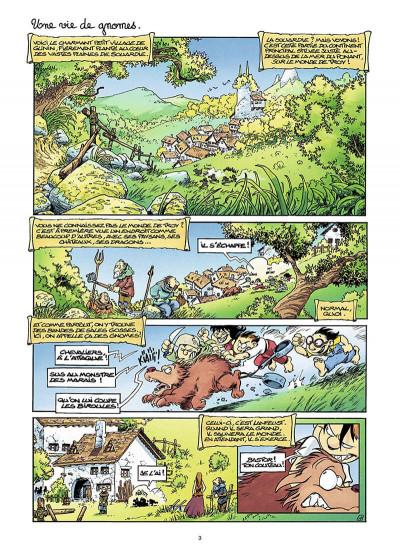 Page 4 gnomes de Troy T.1 - humour rural