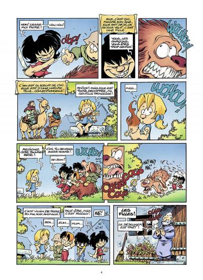Page 5 gnomes de Troy T.1 - humour rural