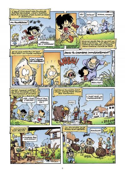 Page 6 gnomes de Troy T.1 - humour rural