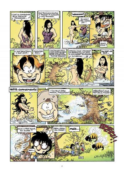 Page 8 gnomes de Troy T.1 - humour rural