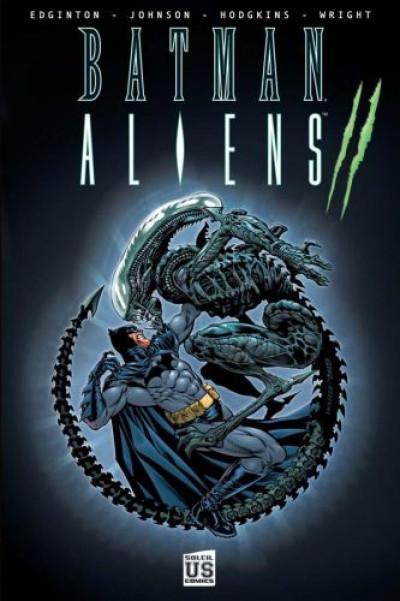 Couverture batman aliens tome 2