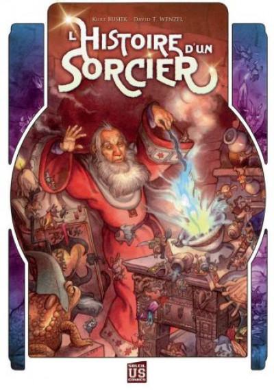 Couverture l'histoire d'un sorcier tome 1